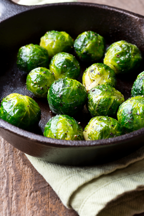 Salt and Pepper Brussels Sprouts Thumbnail
