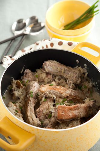 Ribs and Sauerkraut Recipe