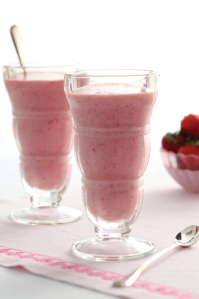 Strawberry Banana Smoothies Recipe