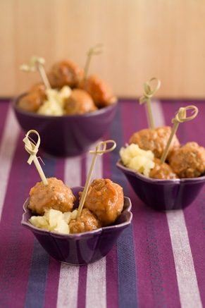 Lighter Sweet and Sour Meatballs Recipe