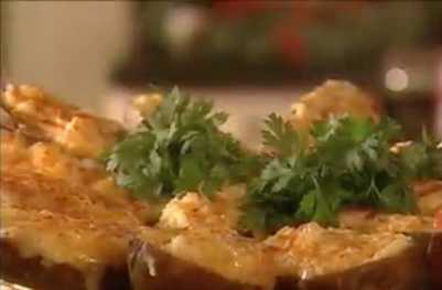 Shrimp Stuffed Potatoes Recipe