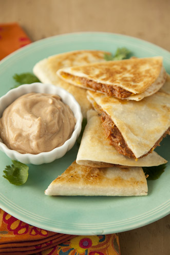 South Meets West Quesadillas Recipe
