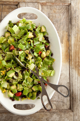 Southwestern Avocado and Black Bean Salad Recipe