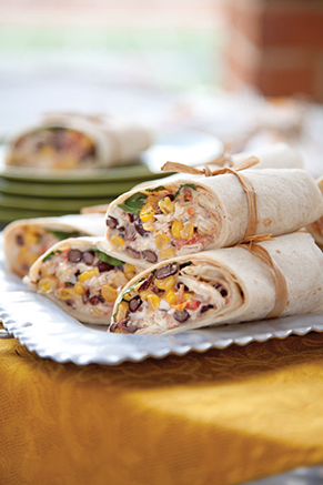 Chili-Lime Southwest Wraps Thumbnail