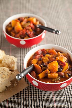 Speedy Veggie Chili Recipe