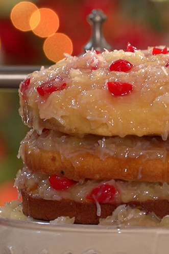 Spiced Holiday Fruitcake Recipe