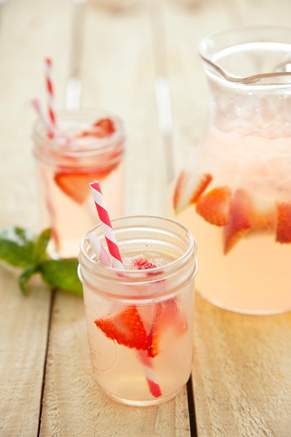 Strawberry Basil Lemonade Thumbnail