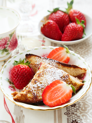 Strawberry-Cream Cheese Stuffed French Toast Thumbnail