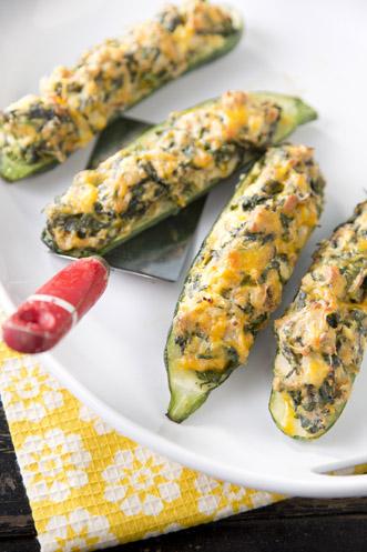 Spinach Stuffed Zucchini Thumbnail