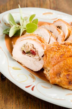 Stuffed Turkey Breast Recipe