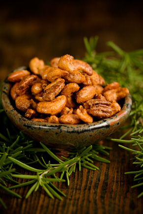 Sugar Spice and Everything Nice Mixed Nuts Recipe