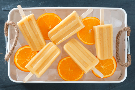 Sunshine Fruit Pops Recipe