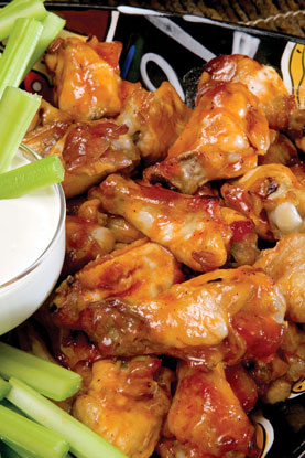 Bowl Day Wings Recipe