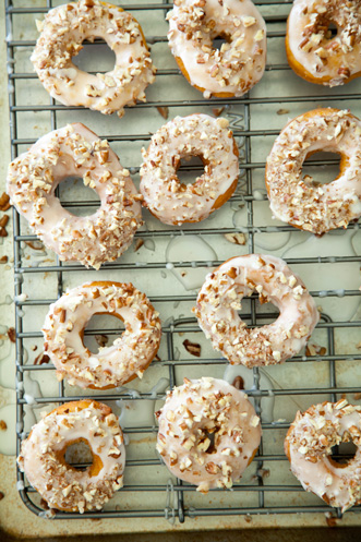 Sweet Potato Doughnuts with Maple Icing Thumbnail