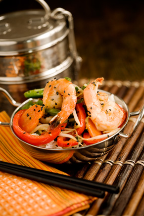 Sweet and Mild Shrimp Stirfry Recipe