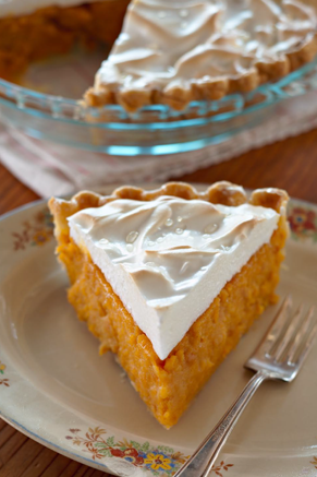 Mama's Sweet Potato Custard Pie Recipe