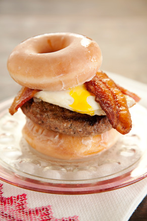 The Lady's Brunch Burger Recipe