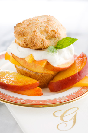 The Lady's Peach Shortcake Recipe