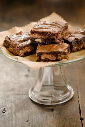 Toffee Brownies Recipe