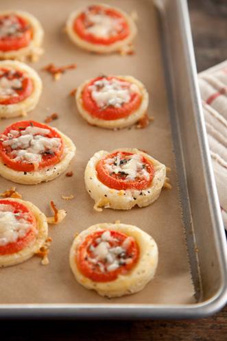 Tomato Sausage Tarts Thumbnail