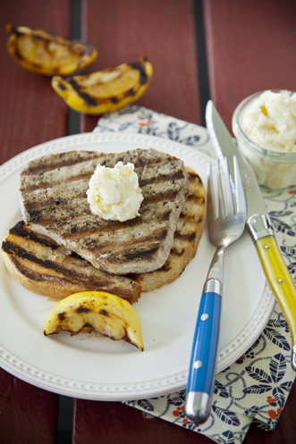 Tuna Steaks with Lemon Pepper Butter Recipe