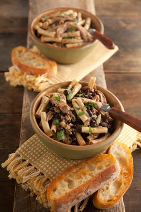 Turkey and Black Bean Ziti Recipe