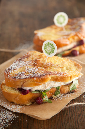 Turkey Cranberry Monte Cristo Recipe