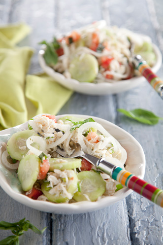Vidalia Onion and Lump Blue Crab Salad Recipe