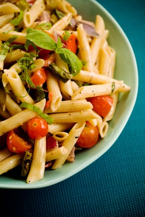 Grilled Vegetable Pasta Salad Thumbnail