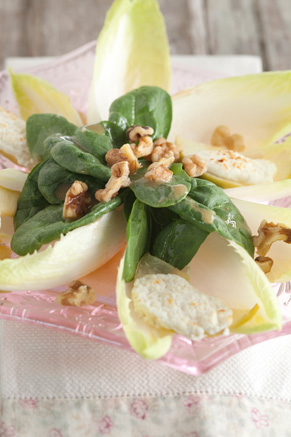 Warm Apple and Goat Cheese Salad Recipe