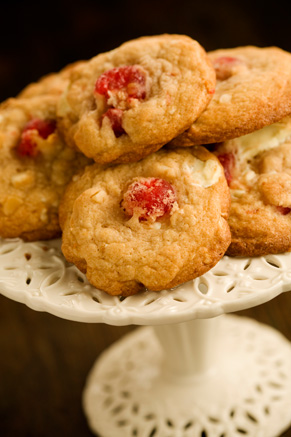 White Chocolate Cherry Chunkies Recipe
