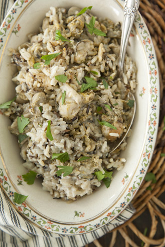 Wild Rice and Oyster Casserole Recipe