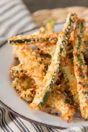 Crispy Oven Zucchini Fries Recipe